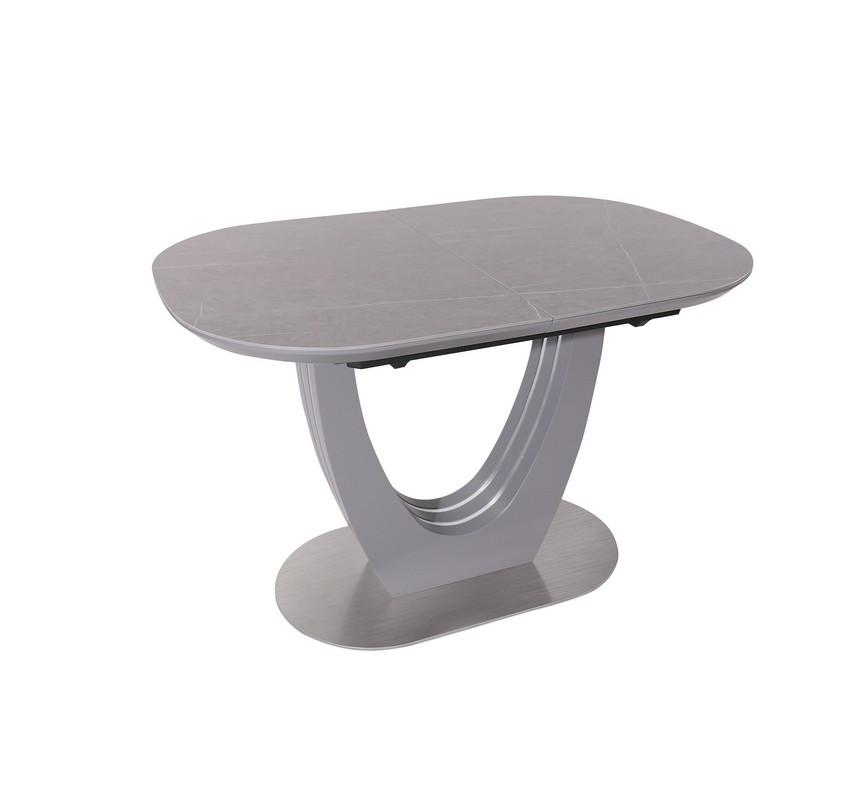 Стол ТМL-865-1 (Айс Грей) 1200(+400)*800