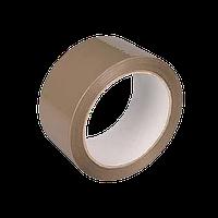 Лента клейкая упаковочная (скотч) коричневая, 45мм*300м Украина (45200)