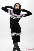 Женское вязаное платье, фото 3