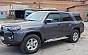 Пороги боковые (подножки-площадка) Toyota 4Runner 5 2014+ (Ø60), фото 3