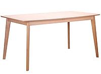 Стол обеденный раздвижной Чедер бук беленый
