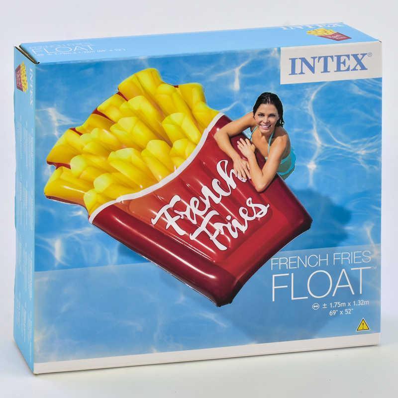 Надувний матрас INTEX Картопля фрі 58775