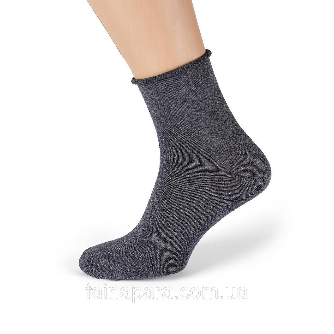Медичні чоловічі бавовняні шкарпетки без гумки Pier Lone