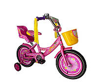 Детский велосипед Girls (14 дюймов) фиолетовый
