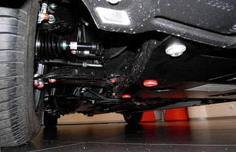 Защита радиатора, двигателя и Коробки передач на Audi A6 C6 (2004-2011) 2.0L бензин
