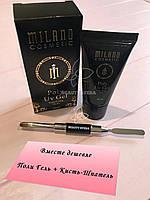 Набор для наращивания ногтей Poly Uv Gel Milano 30ml + Кисть-Шпатель