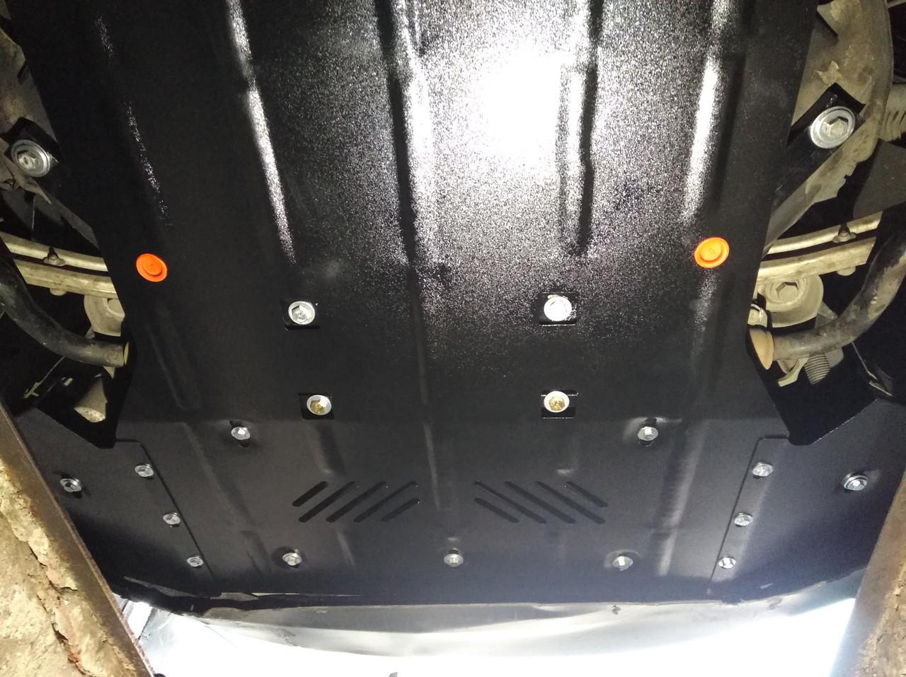 Защита картера (двигателя) и Коробки передач на Fiat Qubo (2016+)