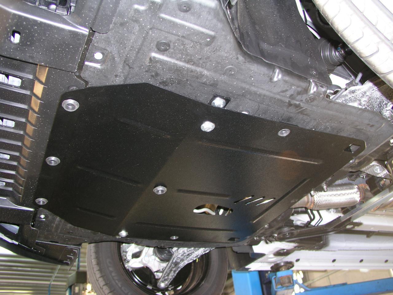 Защита радиатора, картера (двигателя) и Коробки передач на Ford Edge II (2014+)  , 2.7L