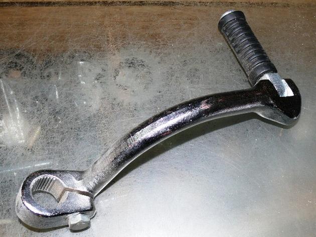 Ножка кикстартера на мотоцикл ИЖ Планета / Юпитер 1,2,3, фото 2