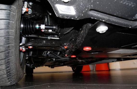 Защита радиатора, картера (двигателя) и Коробки передач на Kia Cerato I (2003-2008) , дизель