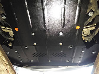 Защита картера (двигателя) и Коробки передач на Kia Rio IV (2017+)