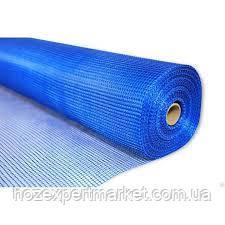 """Сетка строительная (фасадная,синяя) 145 g\m2"""",1х50м. (для наружных и внутренних работ)., фото 2"""