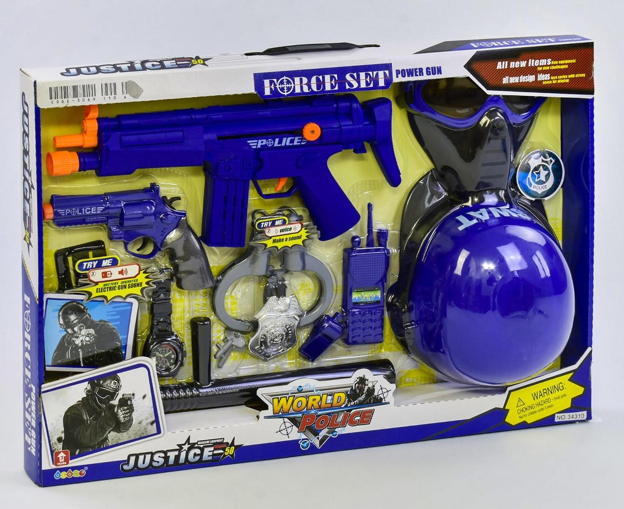 Детский набор полицейского 34310 для мальчика