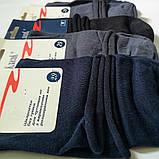 Мужские хлопковые носки без резинки Классик средние, фото 2