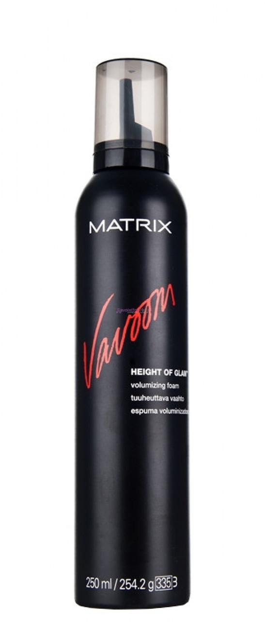 Пінка для об'єму волосся Matrix Vavoom Height Of Glam Volumizing Foam 250 мл