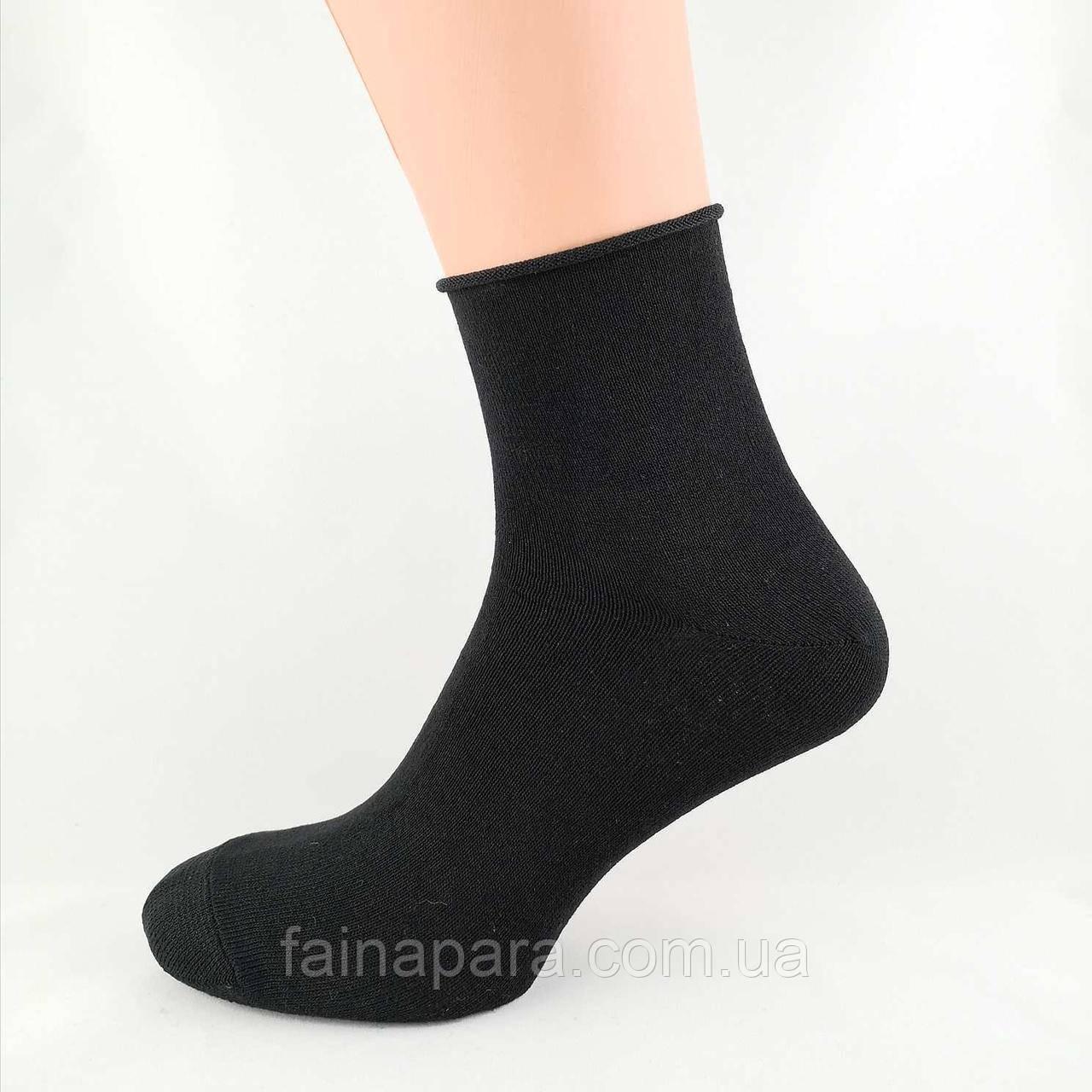 Чоловічі бавовняні шкарпетки без гумки Житомир середні