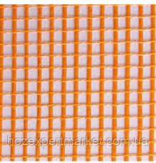 """Сетка строительная (фасадная,оранжевая) 160 g\m2"""",1х50м. (для наружных и внутренних работ)., фото 3"""