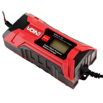 Заядное пристрій 6-12V/0.8-4.0 A/3-120AHR/LCD імпульсне VOIN VL-144