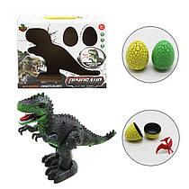 Игрушка динозавр типа Тиранозаврходит, 2 яйца, звуковые и световые эффекты,168-11A