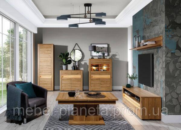 """Модульна система меблі у вітальню зал """"Санді"""" (Сокме)"""