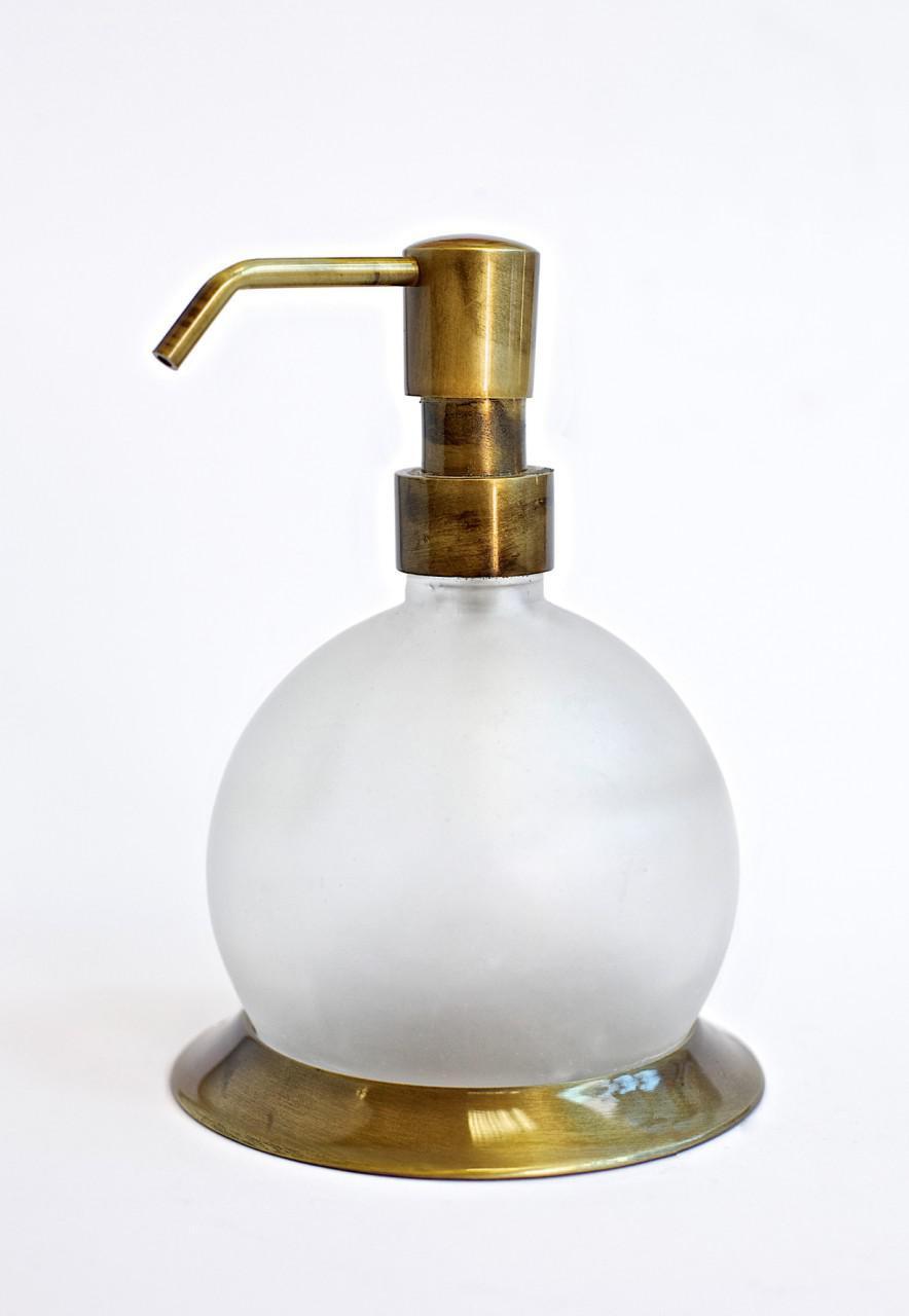 Дозатор для жидкого мыла серия Viya бронза