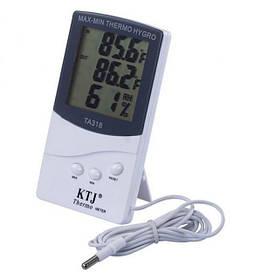 Термометр, гігрометр з выносимым датчиком ТА-318