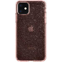 Чехол для моб. телефона Spigen iPhone 11 Liquid Crystal Glitter, Rose Quartz (076CS27182)