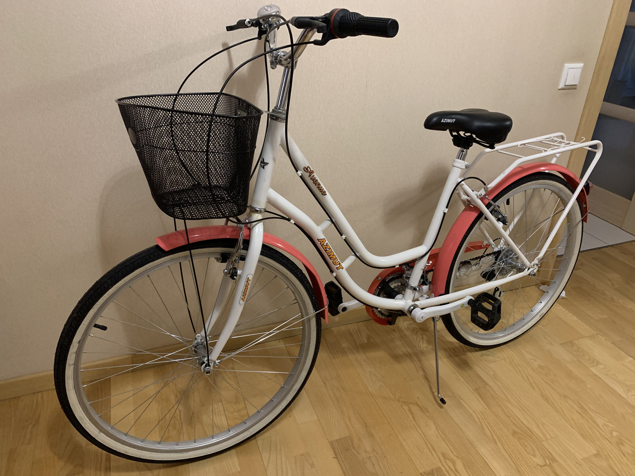 Дамский велосипед дорожник женский городской Вел