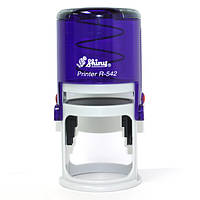 Оснастка для круглой печати Shiny R-542, пластиковая автоматическая, Ø 42мм, ассорти