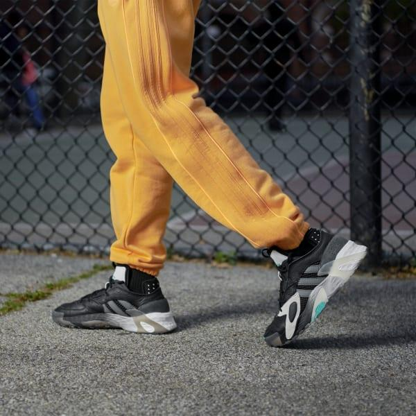 Чоловічі кросівки Adidas StreetBall в стилі адідас Стрітбол Чорні (Репліка ААА+)