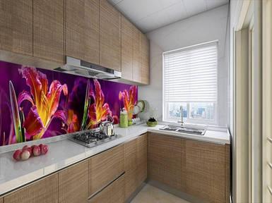 Кухонный фартук на виниловой пленке с защитной ламинацией, 60 х 200 см.