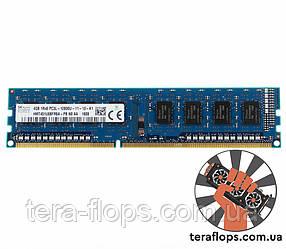 Оперативная память SK hynix DDR3 4GB 1333MHz (HMT351U6CFR8C-H9) Б/У