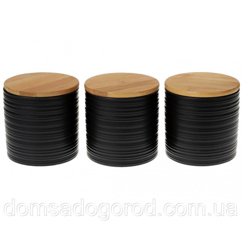 Набор керамических банок Вonadi 3 шт 550 мл (304-923)