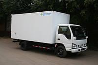 Услуги грузоперевозок сборных грузов цельнометами