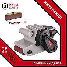 Стрічкова шліфмашина Интерскол ЛШМ-76/900 + в подарунок 5 стрічок!