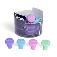Пробка силиконовая Fissman для бутылки 3х3х3 см 8725