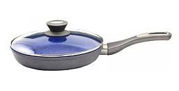 Антипригарна сковорода 24 см з кришкою Lessner Stone Line 88360-24