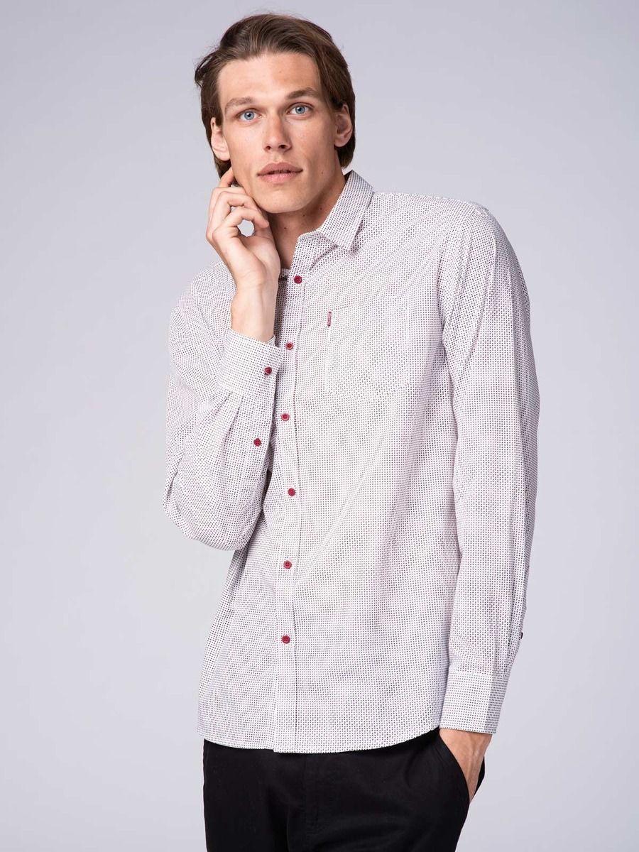 Мужская рубашка Volcano K-Null M09020-100