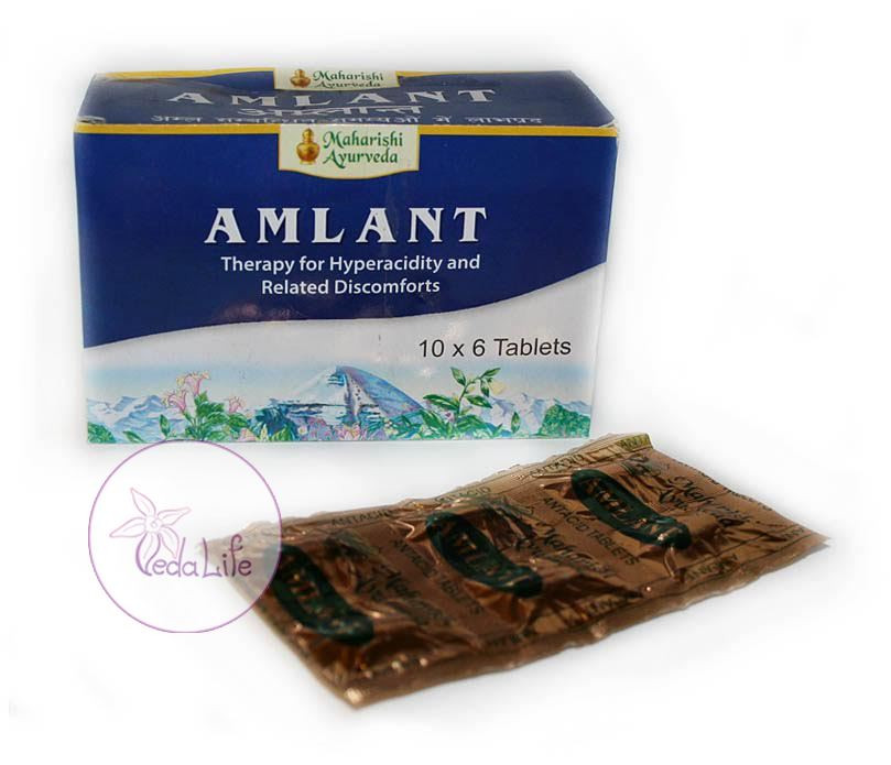 Амлант, Amlant, 60 табл. - повышенная кислотность, язва желудка и двенадцатиперстной кишки, гастрит, рефлюкс