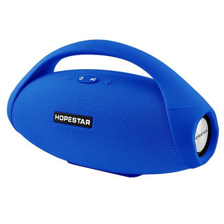 Портативна bluetooth колонка Hopestar H31 BIG, синя, фото 2