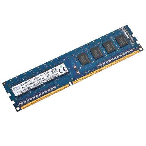 Б.У Оперативная память Hynix 4Gb, DDR3, PC3-12800U, 1600MHz