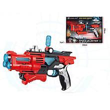 Пістолет-бластер музичний іграшкова дитяча зброя на батарейках світло і музика