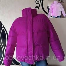 Жіноча світловідбиваюча куртка - бузок розмір  L