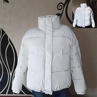 Светоотражающая куртка - белый рост 152