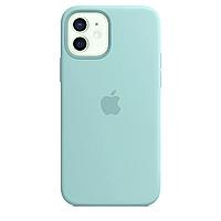 Чехол Silicone case для IPhone 11 Turquoise светло зеленый