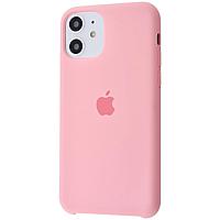 Чехол Silicone case для IPhone 11 Pink розовый