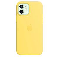 Чехол Silicone case для IPhone 11 Yellow желтый