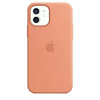 Чехол Silicone case для IPhone 11 Peach оранжевый