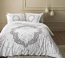 Комплект постельного белья Tac сатин Glow MOLLY LILA евро