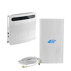 Комплект «LTE Универсальный» (Huawei B593 + Антенна 4G LTE MIMO SMA)